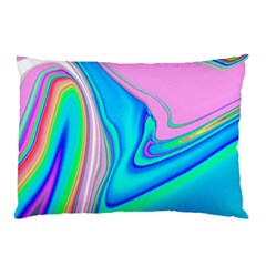 Aurora Color Rainbow Space Blue Sky Purple Yellow Green Pink Red Pillow Case