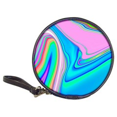 Aurora Color Rainbow Space Blue Sky Purple Yellow Green Pink Red Classic 20 Cd Wallets