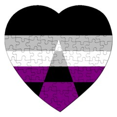 Dissexual Flag Jigsaw Puzzle (heart)