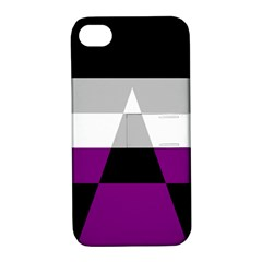 Dissexual Flag Apple Iphone 4/4s Hardshell Case With Stand