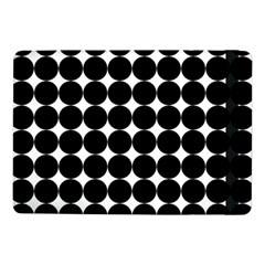 Dotted Pattern Png Dots Square Grid Abuse Black Samsung Galaxy Tab Pro 10 1  Flip Case