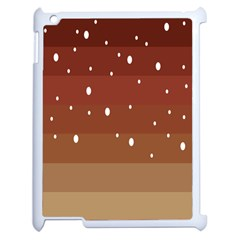 Fawn Gender Flags Polka Space Brown Apple Ipad 2 Case (white)