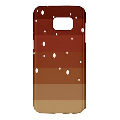 Fawn Gender Flags Polka Space Brown Samsung Galaxy S7 Edge Hardshell Case