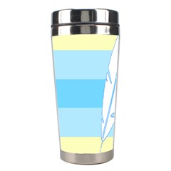 Feather Flags Stainless Steel Travel Tumblers