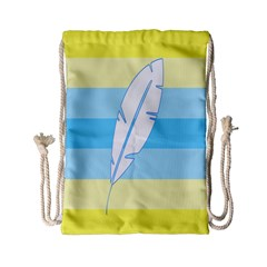 Feather Flags Drawstring Bag (small)
