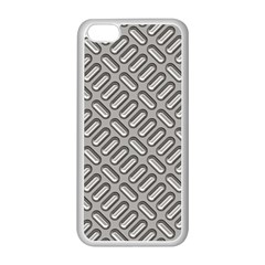 Capsul Another Grey Diamond Metal Texture Apple Iphone 5c Seamless Case (white)