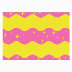 Glimra Gender Flags Star Space Large Glasses Cloth (2 Side)
