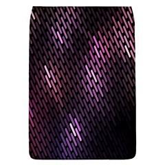 Light Lines Purple Black Flap Covers (l)