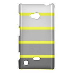 Molly Gender Line Flag Yellow Grey Nokia Lumia 720