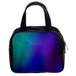 Galaxy Blue Purple Classic Handbags (2 Sides) Front