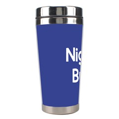 Night Bus New Blue Stainless Steel Travel Tumblers