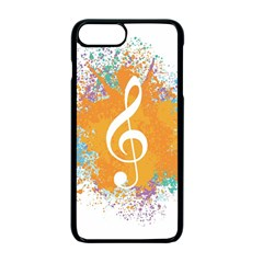 Musical Notes Apple Iphone 7 Plus Seamless Case (black)