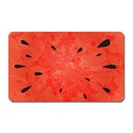 Summer watermelon design Magnet (Rectangular) Front