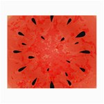 Summer watermelon design Small Glasses Cloth (2-Side) Front