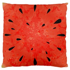 Summer watermelon design Large Cushion Case (Two Sides)