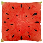 Summer watermelon design Large Flano Cushion Case (One Side) Front