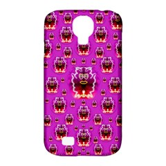 A Cartoon Named Okey Want Friends And Freedom Samsung Galaxy S4 Classic Hardshell Case (PC+Silicone)