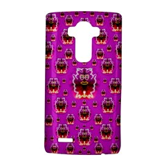 A Cartoon Named Okey Want Friends And Freedom LG G4 Hardshell Case