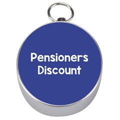 Pensioners Discount Sale Blue Silver Compasses
