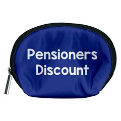 Pensioners Discount Sale Blue Accessory Pouches (medium)