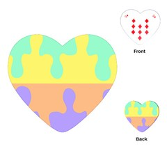 Puzzle Gender Playing Cards (heart)
