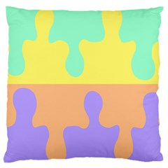 Puzzle Gender Large Cushion Case (two Sides)