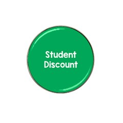 Student Discound Sale Green Hat Clip Ball Marker (4 Pack)