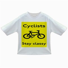 Stay Classy Bike Cyclists Sport Infant/toddler T Shirts