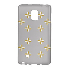 Syrface Flower Floral Gold White Space Star Galaxy Note Edge