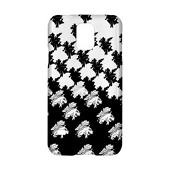 Transforming Escher Tessellations Full Page Dragon Black Animals Samsung Galaxy S5 Hardshell Case