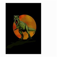 Dinosaurs T Rex Small Garden Flag (two Sides)