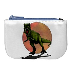 Dinosaurs T Rex Large Coin Purse
