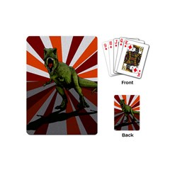 Dinosaurs T Rex Playing Cards (mini)