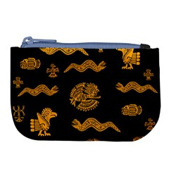 Aztecs Pattern Large Coin Purse