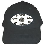 Aztecs pattern Black Cap Front