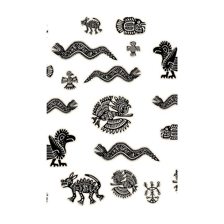 Aztecs pattern Shower Curtain 48  x 72  (Small)