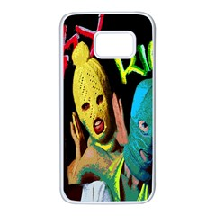 Pussy Riot Samsung Galaxy S7 White Seamless Case