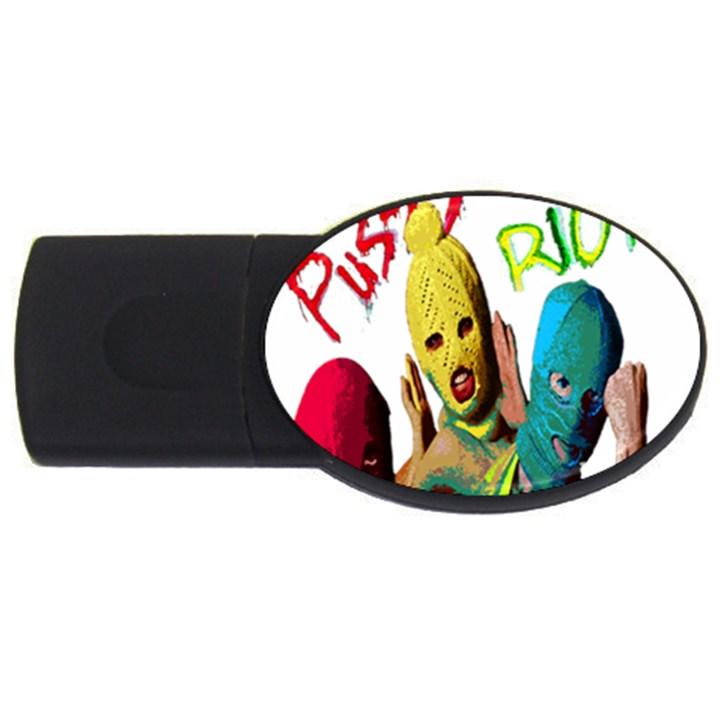 Pussy Riot USB Flash Drive Oval (2 GB)