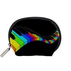 Rainbow piano  Accessory Pouches (Small)