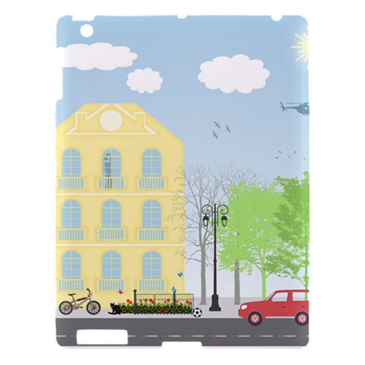 Urban Scene Apple iPad 3/4 Hardshell Case