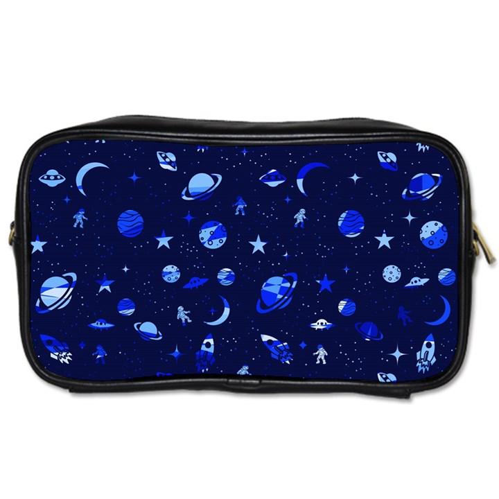 Space pattern Toiletries Bags 2-Side