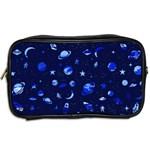 Space pattern Toiletries Bags 2-Side Back