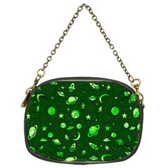 Space Pattern Chain Purses (one Side)