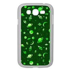 Space Pattern Samsung Galaxy Grand Duos I9082 Case (white)