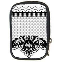 Transparent Lace Decoration Compact Camera Cases