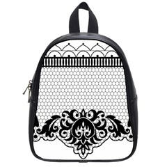 Transparent Lace Decoration School Bags (small)