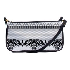 Transparent Lace Decoration Shoulder Clutch Bags