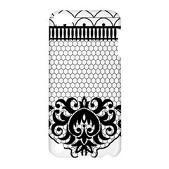 Transparent Lace Decoration Apple Ipod Touch 5 Hardshell Case