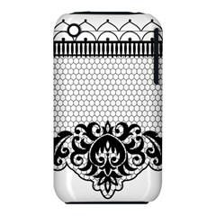 Transparent Lace Decoration Iphone 3s/3gs