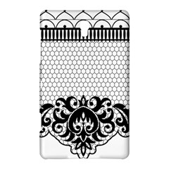 Transparent Lace Decoration Samsung Galaxy Tab S (8.4 ) Hardshell Case